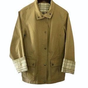 Burberry London Tan Utility Jacket.  Size Small